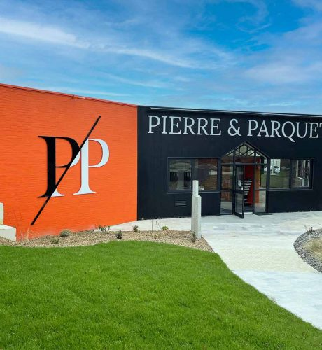 Extérieur du magasin Pierre et Parquet Angers