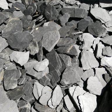 Paillettes Ardoise Noire 12/50 mm