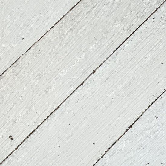 parquet vintage contrecolle blanc