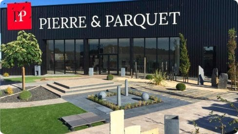 Implantation magasin pierre et parquet à Caen en 2016