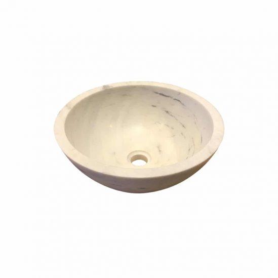 vasque ronde en pierre naturelle