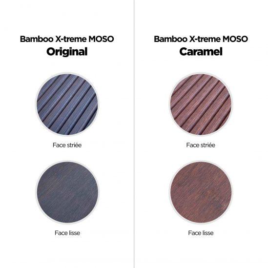 Différence du bamboo original
