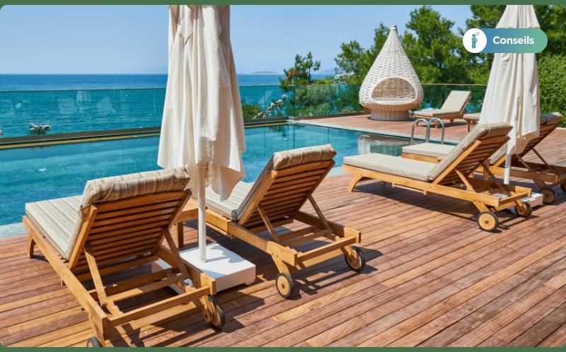 Liste des avantages de la terrasse en bambou