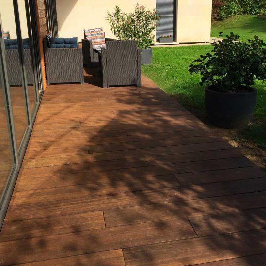 realisation terrasse bois
