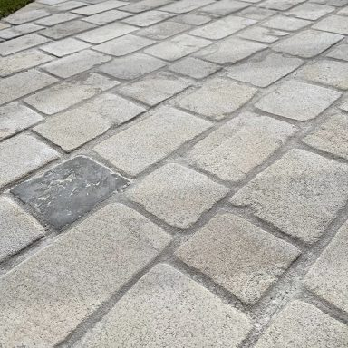 pavés Limoges en pierre naturelle