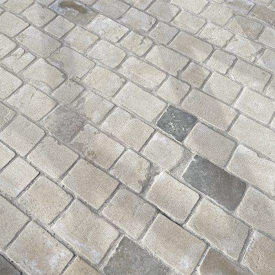 pavés Limoges pierre naturelle