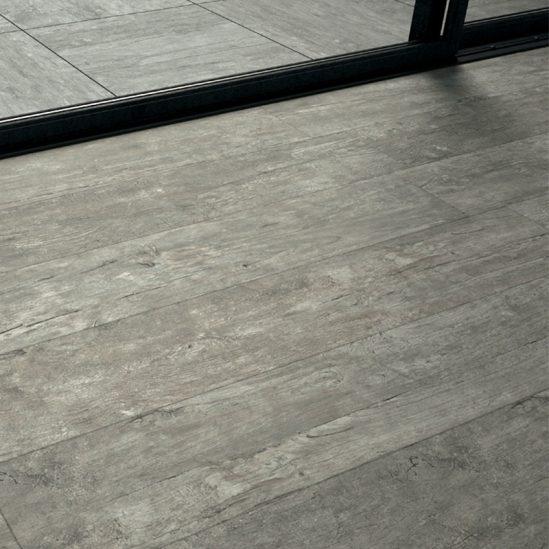 Grès cérame imitation bois gris