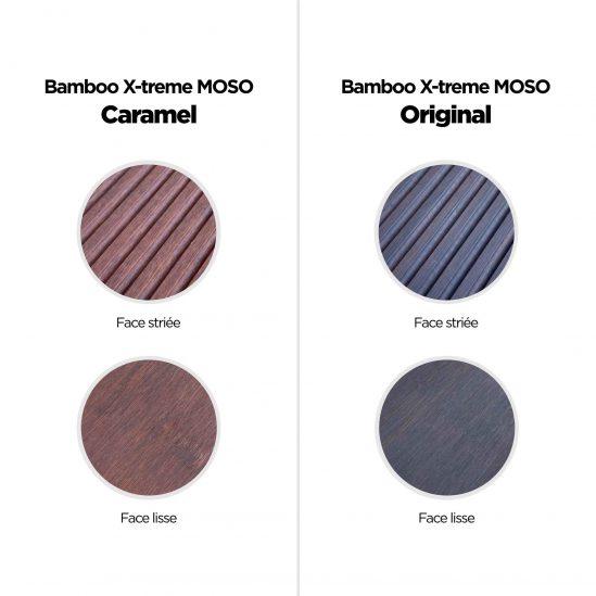 Différence du bamboo caramel